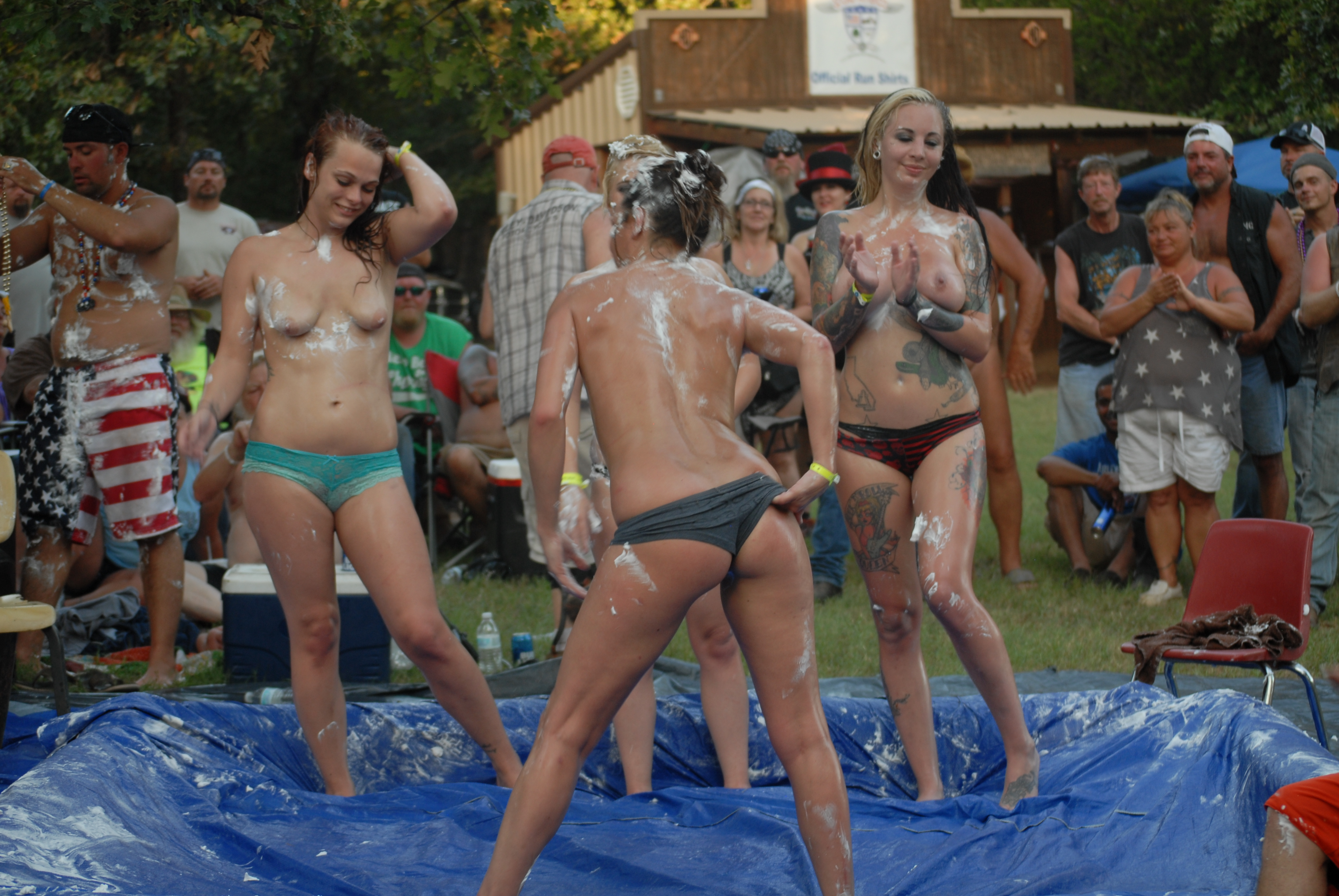 Motorcycle adult rally parties